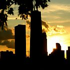Chicago Silhoette by ImagesbyKelly