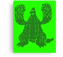 DAIKAIJU LORD - RADIOACTIVE Canvas Print