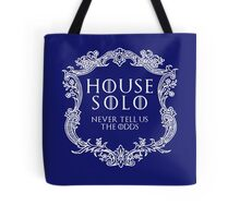 House Solo (white text) Tote Bag