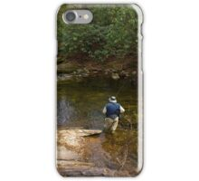 Trout Fishing in the South Mountains iPhone Case/Skin