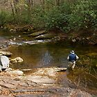 Trout Fishing in the South Mountains by Otto Danby II