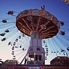 State Fair Swings by Cathryn  Lahm