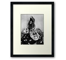 Converse Graffiti Framed Print
