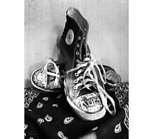 Converse Graffiti Photographic Print