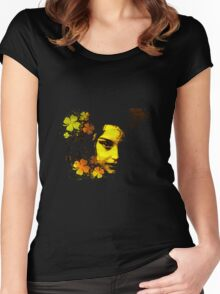 the face Women's Fitted Scoop T-Shirt