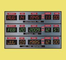 Time Circuits Kids Tee