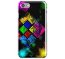 Abstract Color Theory iPhone Case/Skin