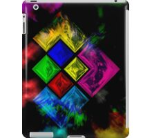 Abstract Color Theory iPad Case/Skin