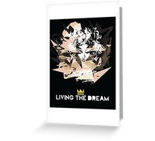 Madonna - living the dream Greeting Card