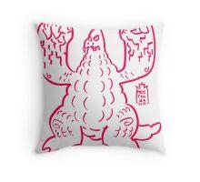 DAIKAIJU LORD - RED Throw Pillow