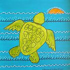 Otis the Baby Sea Turtle Escapes by Susan Greenwood Lindsay