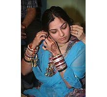 Chura and Mehendi Photographic Print
