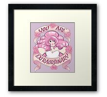 You Are Extraordinary Framed Print