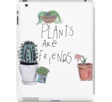 Plants Are Friends iPad Case/Skin
