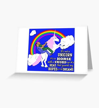 Turkicorn Greeting Card
