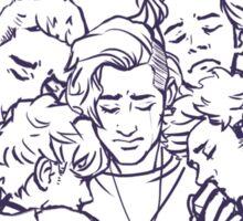 We love You , Zayn- OT5 Sticker