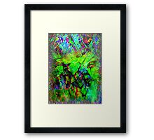 ...  Haunted by shadows within the Memories of You  ... Framed Print