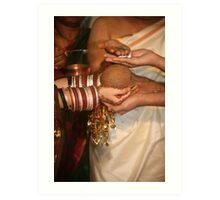 Sumuhurtham Rituals Art Print