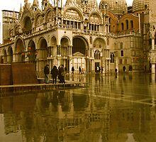 ST MARK'S FLOOD by Scott  d'Almeida