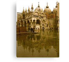 ST MARK'S FLOOD Canvas Print