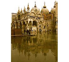 ST MARK'S FLOOD Photographic Print