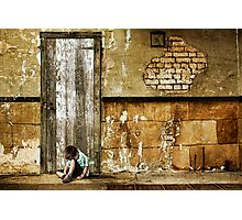 Alone Photographic Print