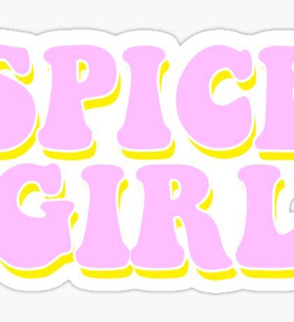 SPICE GIRL Sticker