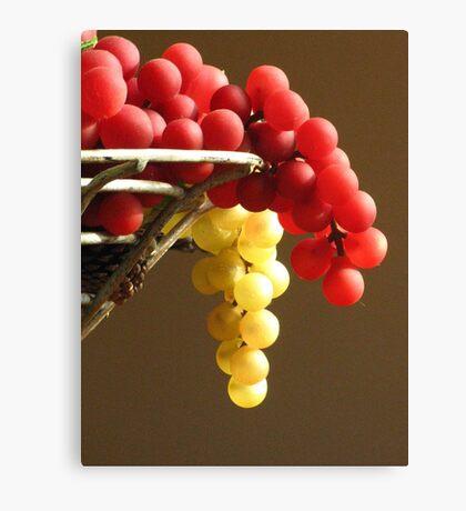 Faux Grapes Canvas Print