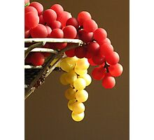 Faux Grapes Photographic Print