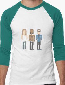 Death Grips Pixel Men's Baseball ¾ T-Shirt