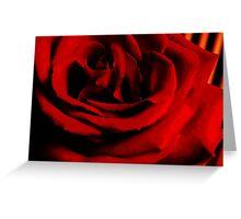 Red, Red Rose Greeting Card