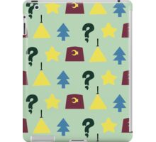 Pines Pattern iPad Case/Skin