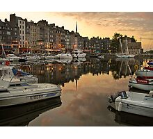 honfleur evening Photographic Print