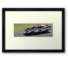 Allan Moffat Ford Falcon Framed Print