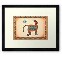 El Puma Framed Print