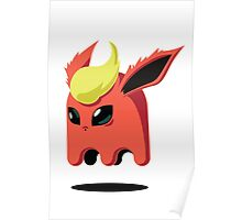 Flareon Ghost Poster