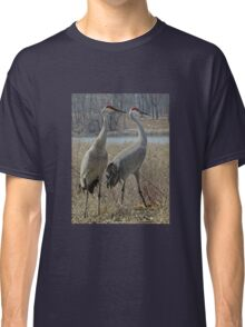 Cherokee Marsh Sandhill Cranes  Classic T-Shirt