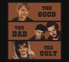 Home Alone T Shirt - The Good The Bad and The Ugly by movieshirtguy