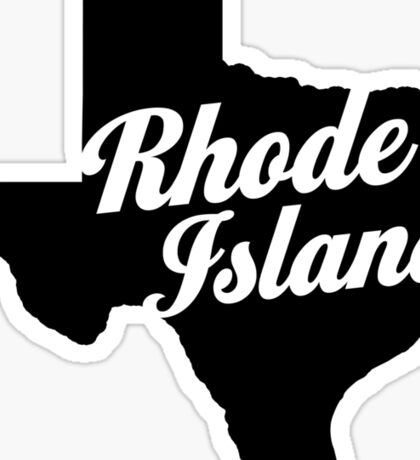 Texas Island Sticker