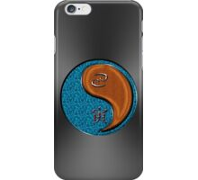 Cancer & Tiger Yang Wood iPhone Case/Skin