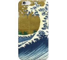 Japanese wave - Square iPhone Case/Skin