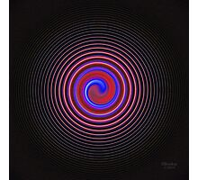 'YinYang Spiral' Photographic Print
