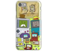 Happy Handheld family iPhone Case/Skin