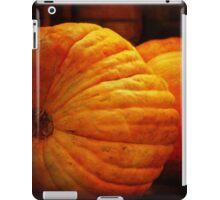 Big Orange Pumpkins iPad Case/Skin