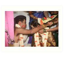 Mangalasutradharana Art Print