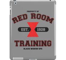Red Room Training- Black iPad Case/Skin