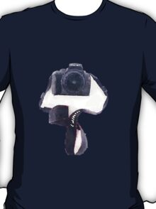 Canon DSLR Camera Watercolor Sticker T-Shirt