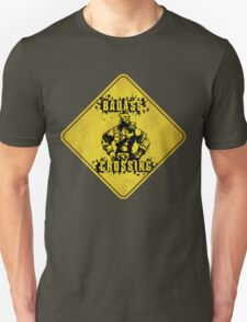 Wilhelm Badass Crossing (Worn Sign) T-Shirt