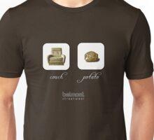 couch / potato (dark) Unisex T-Shirt