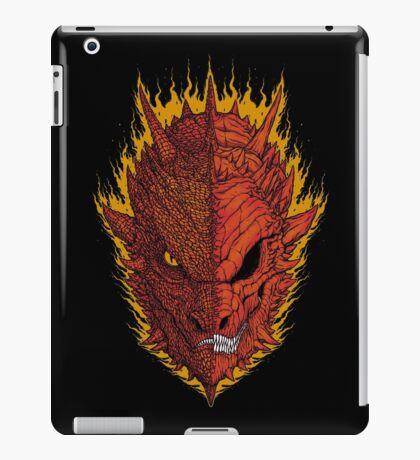 Fire and Death iPad Case/Skin
